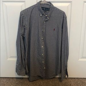 Custom fit Polo Button down (In between M/L)
